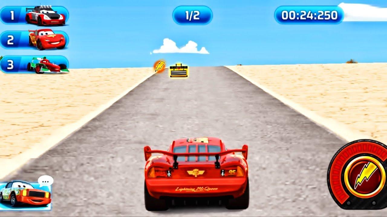 Car Lightning Mcqueen Race Online Speed Games Youtube