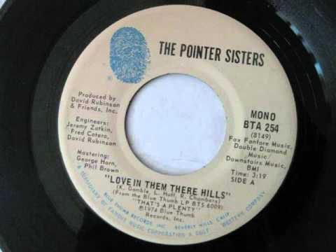 The Pointer Sisters - Love In Them There Hills