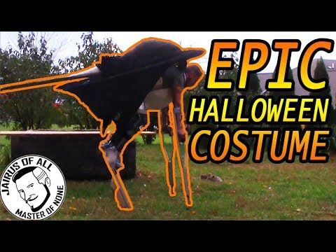 extreme halloween costume youtube. Black Bedroom Furniture Sets. Home Design Ideas