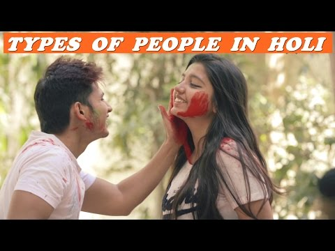 Types Of People In Holi | Funk You