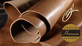 Horween Leather - Nut Brown Essex 4-5oz