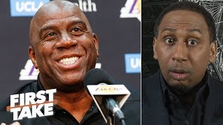 The Lakers would have been better off if they listened to Magic Johnson – Stephen A. | First Take