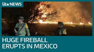 At least 66 dead after explosion at illegal pipeline tap in Mexico   ITV News