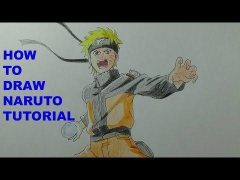 How To Draw Naruto Uzumaki (Pose Tutorial)