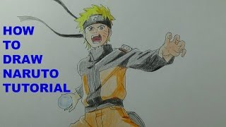 How To Draw Naruto Uzumaki (Pose Tutorial)