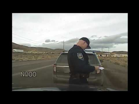 Nevada Highway Patrol dash cam