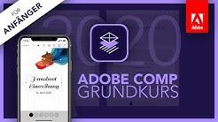 Adobe Comp 2020 (Grundkurs für Anfänger) Deutsch (Tutorial) App