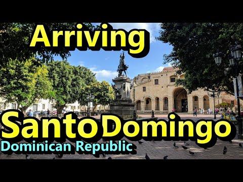 Arriving Santo Domingo Dominican Republic
