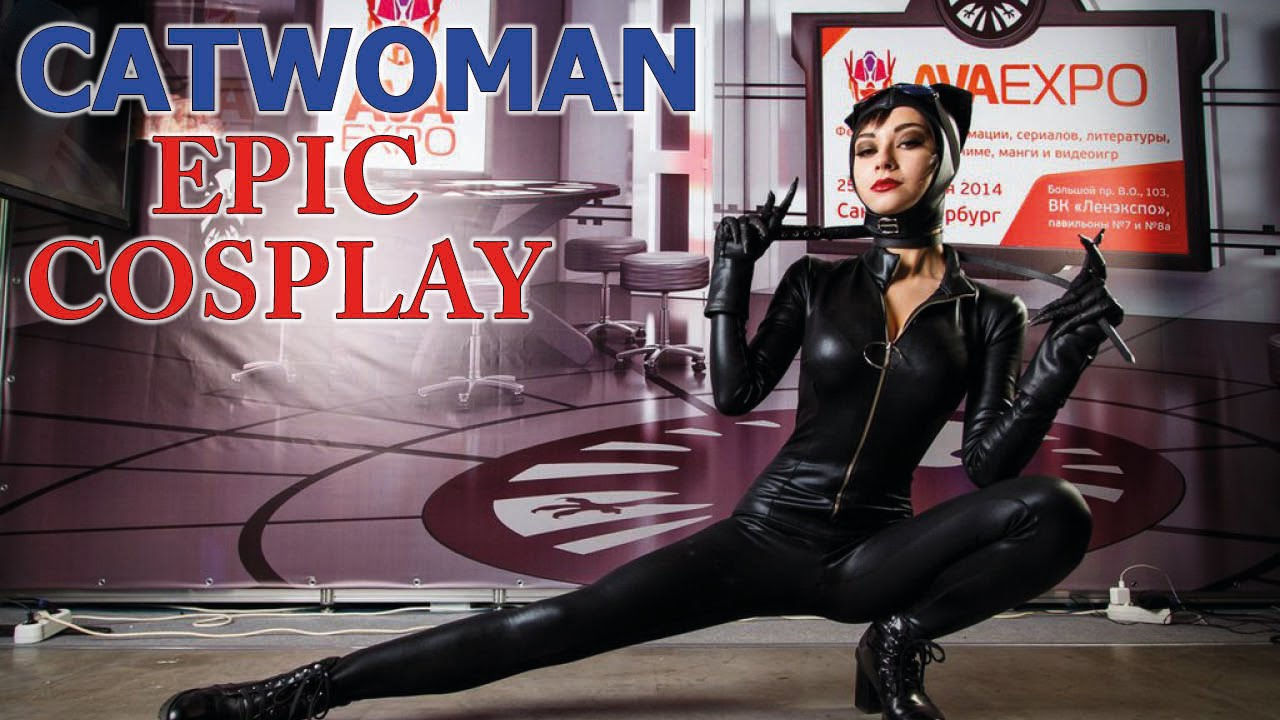 Catwoman hot cosplay (Batman) - YouTube