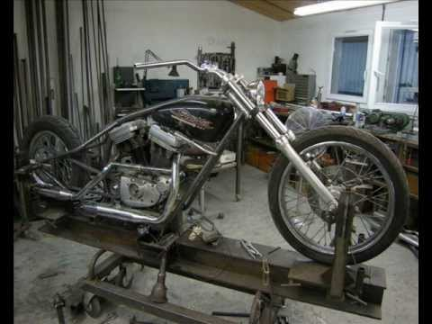 HARLEY DAVIDSON Sportsters 883 Chopper Cheap Chop The BUILD OFF