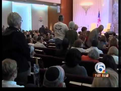United Nations Ambassador speaks at Boca Raton synagogue