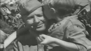 Возвращение домой после войны Советских Солдат до слёз