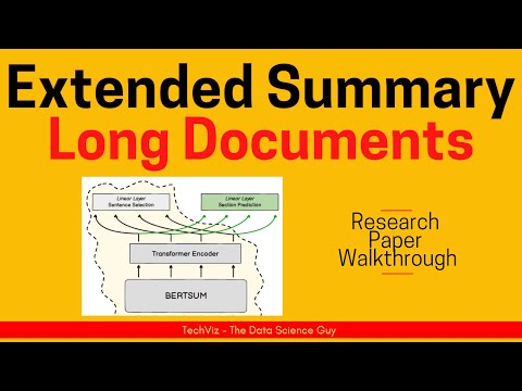 On Generating Extended Summaries of Long Documents | Research Paper Walkthrough