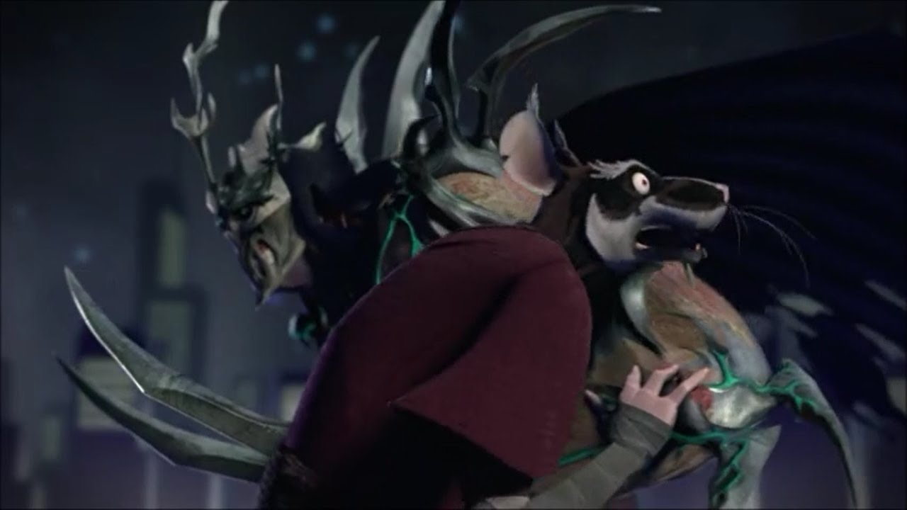 tmnt 2012 shredder kills splinter