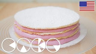 Fluffy Jam Cake Recipe