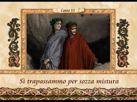 La Divina Commedia in VERSI - Inferno, canto VI (6)