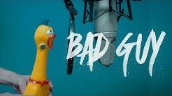 Billie Eilish - bad guy  |  Rubber Chicken Cover 【Chickensan】 melodyne