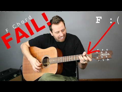Guitar CHEATS! - 5 Easy Ways To Play an F Chord!