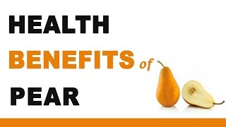 Health benefits of asian pears