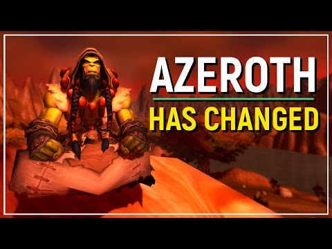How The World of Warcraft Has Changed From Vanilla To Legion