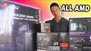 Building an AMD Gaming PC with a 5700XT and 4.4GHz 3800X