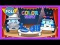 Blue | Color play for Kids | Robocar Poli Game