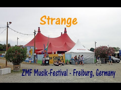 LP - Strange in Freiburg, Germany (not the whole song)