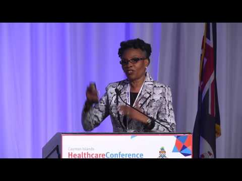 Cayman Islands Healthcare Conference FRIDAY, 21 OCTOBER 2016 Dr Verna Brooks-McKenzie