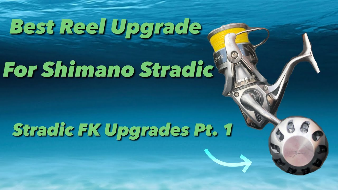 Shimano Stradic FK Upgrades Pt 1 | Power Knob Installation