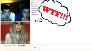 YOU'RE A GUY!? PROVE IT!! OMEGLE