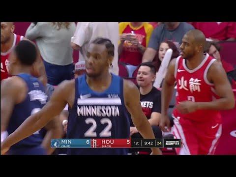 1st Quarter, One Box Video: Houston Rockets vs. Minnesota Timberwolves