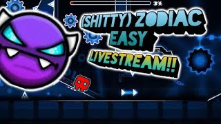 🎮Completando (Shitty) Zodiac Easy EN DIRECTO!! (Original By Xander556) + [Geometry Dash] + No Voz🎤