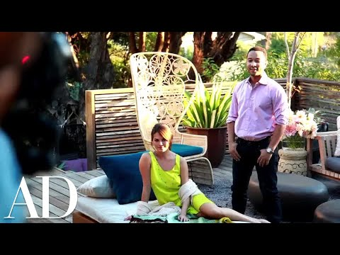 Inside John Legend And Chrissy Teigen's Los Angeles Home | Celebrity Homes | Architectural Digest