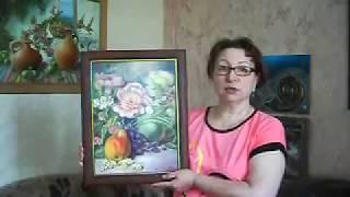 Видеознакомство. Картина маслом  Натюрморт с грушей