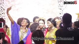 40 ya mtoto wa Diamond: Team Zari watinga na ukumbini za zawadi za aina yake