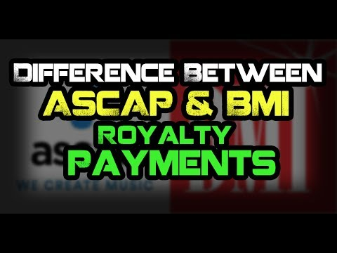 Difference Between ASCAP & BMI Royalty Payments