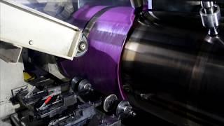 Производство пленки ПВХ для натяжных потолков на заводе MSD