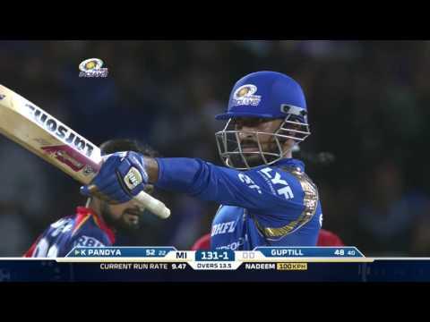 Download MI-DD: Krunal Pandya's blistering knock helps MI win