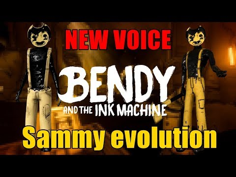 Sammy Lawrence NEW VOICE | OLD Vs NEW | Evolution Of Sammy - Bendy And The Ink Machine