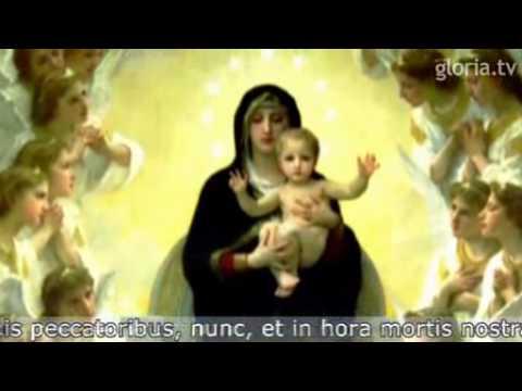 Oración Del ángelus Youtube