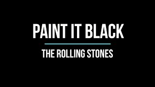 Paint It Black - The Rolling Stones (guitar cover)