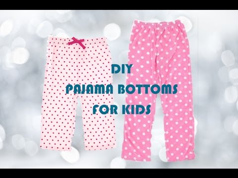 DIY Pajama Pants Sewing Project For Beginners YouTube Delectable Pajama Pants Pattern