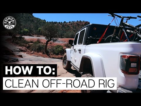 How To Clean Wheels & Undercarriage! - Chemical Guys | Jeep Gladiator Part:1 |