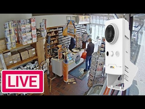 AXIS Companion Cube L - Live Demo FullHD Security Camera Webcam
