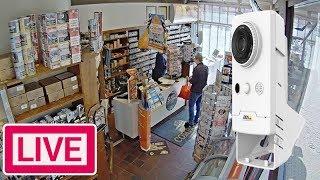 AXIS Companion Cube L - Live Demo FullHD Security Camera Webcam