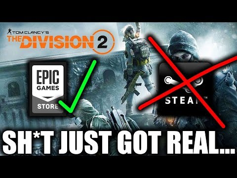 The Division 2 Skipping Steam For The Epic Games Store