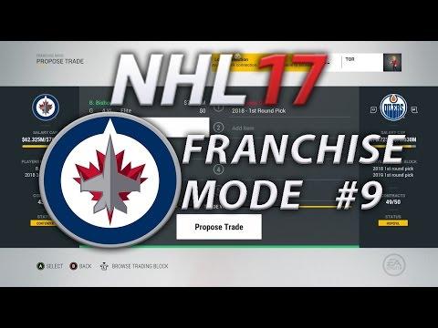 NHL 17 Franchise Mode Winnipeg Jets #9 | Trading Bishop??