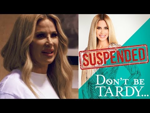 Filming STOPPED For Kim Zolciak's Don't Be Tardy, Kim Issues An Apology