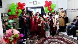 Aye Rooh-e-Quaid Aaj ke Din - Pakistan Tehreek-e-Insaf Phoenix Membership Inauguration 12-31-11