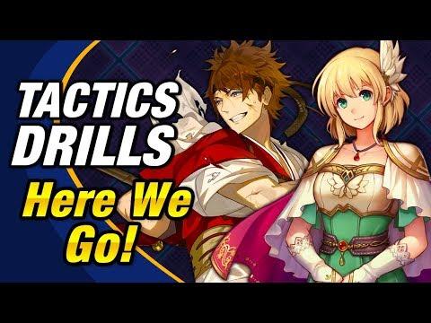 Fire Emblem Heroes - Tactics Drills: Grandmaster 17: Here we go! Guide